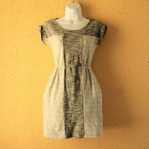 Anthropologie Rolled Short Sleeve, Woven Dress